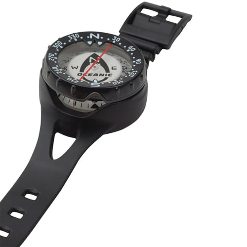 Oceanic SWIV Compass with Rubber Wrist Strap
