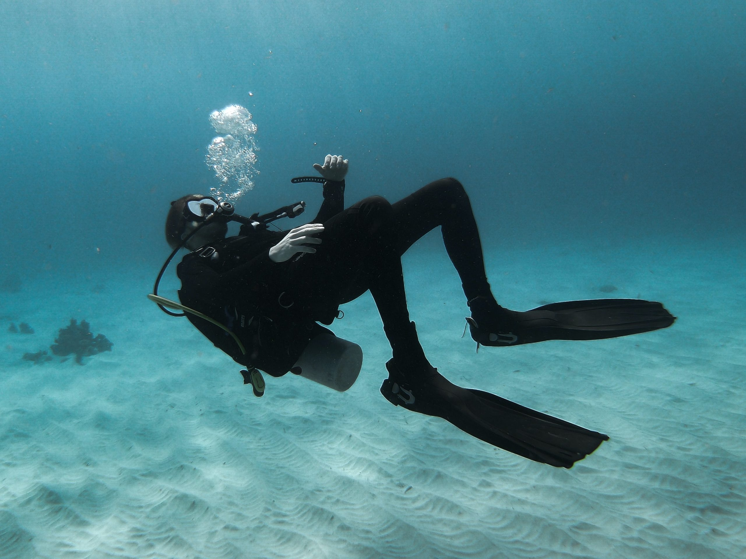 Scuba Diving with Fins